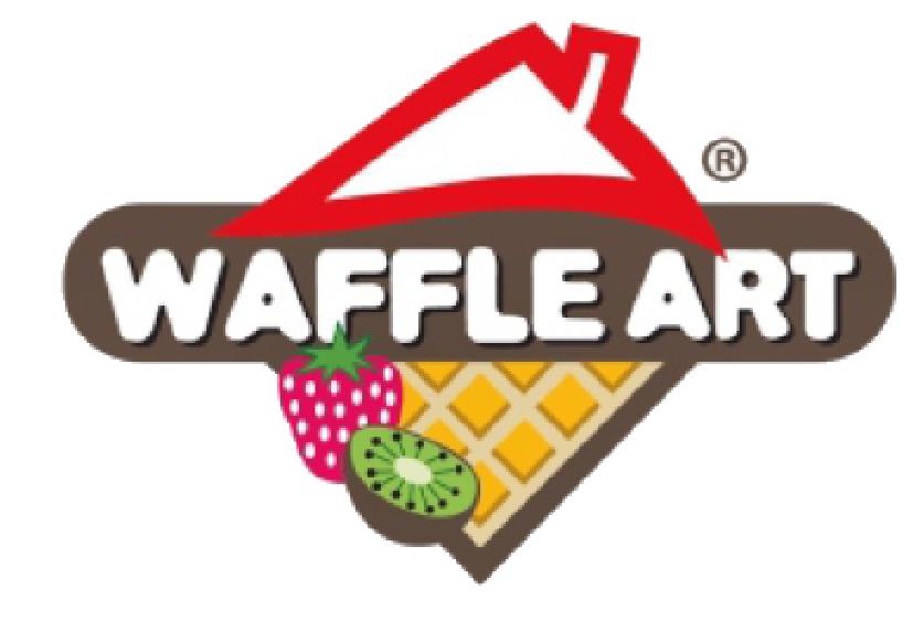 waffle art