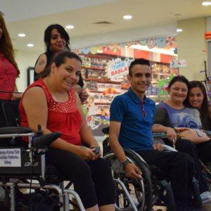 Tekerlekli Sandalye Bağışı Yapıldı